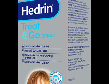 Hedrin Treat&Go Spray